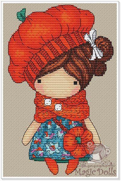 Схемы по эскизам к куколкам Magic__ Dolls – 43 фотографии
