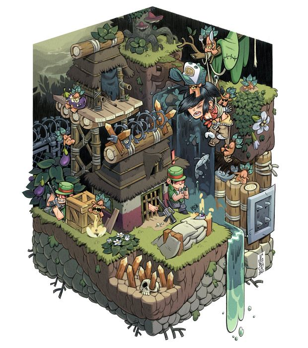 <3 game worlds with isometric views ⊟ As someone... - Tiny Cartridge 3DS…