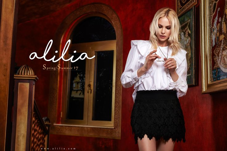 Alilia S/S17 Campaign ..www.alilia.com Model : Gorby @ Bareface  Styling : Dina Yasin Hair & Makeup : Atoosa Baghiat