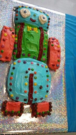 Robot Cake!!