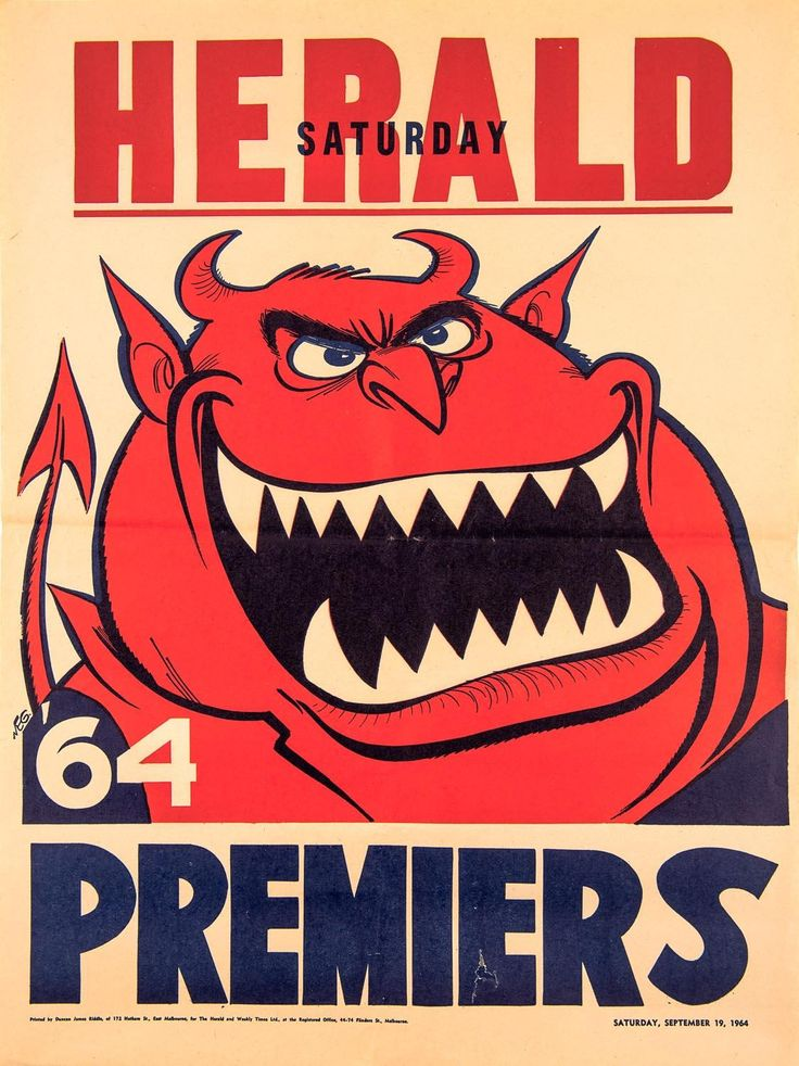 MELBOURNE: 1964 original Weg poster.