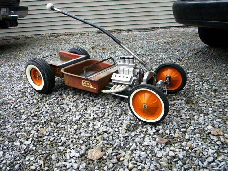 Rat Rod Radio Flyer Wagons Pinterest Radio Flyer