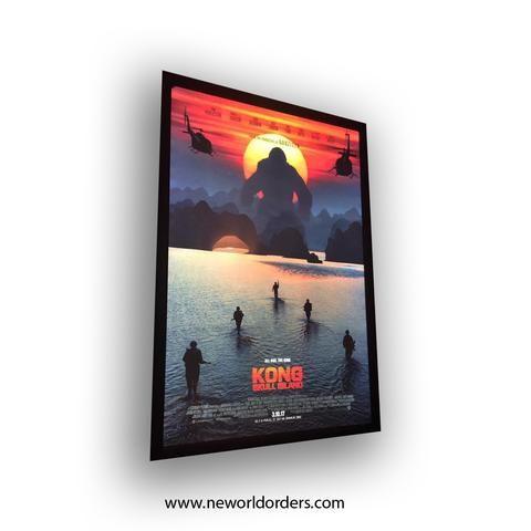 27x40 SUMMER CINEMA BLOWOUT SALE Premium Black LED Light Box Poster Frame