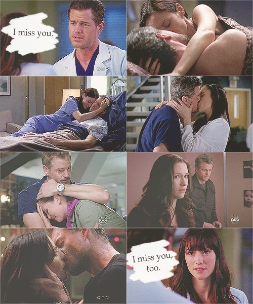 Greys Anatomy... Mark and Lexie