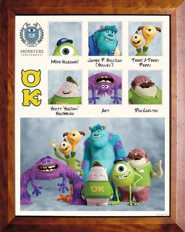 """The fraternities and sororities of """"Monsters University"""""""