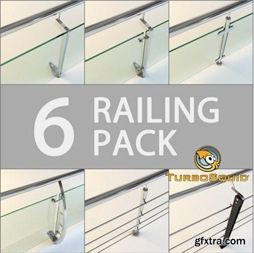 Turbosquid 6 Railing Pack