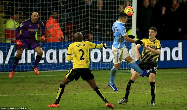 Watford 1-2 Manchester City #barclays #premier #league #england #soccer #football #score #result