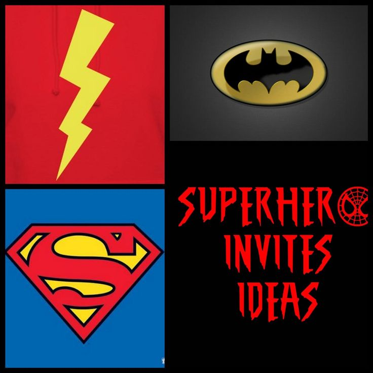 38 best Superhero Party Invitations images on Pinterest | Party ...