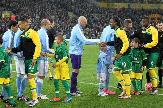 The best images from Norwich City's 3-0 FA Cup defeat at home to Manchester City - Norwich City - Pink Un - Norwich City Football Club News