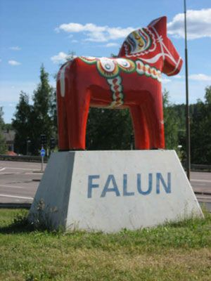 I have people in Falun too ♥ It is about ten miles or less outside of Lindsborg Kansas