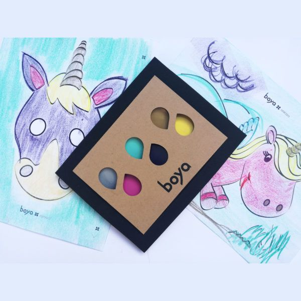 #boyacrayons limited edition set that contains all colors to draw a perfect #unicorn