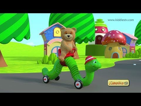 teddy bear makes his snake car and rides it ! have fun with teddy bear and his snake car and go on a fun ride with him | teddy | bear | kindergarten | homeschool | preschool | parenting | how to make | toys | kids | kiddiestv (c) Image devices (I) pvt ltd 2017