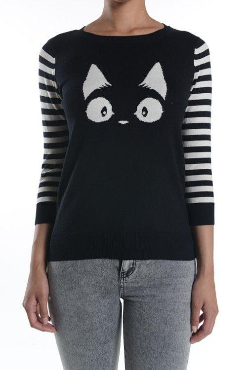 Best 25  Cat sweaters ideas on Pinterest | Cat sweatshirt, Cats ...