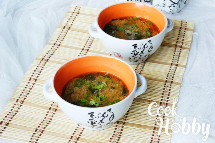 Японский мисо-суп с тофу