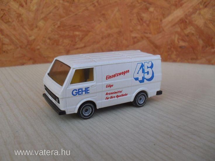 Siku VW LT28 - Ritka - Retro Kisautó - 4310 Ft - Nézd meg Te is Vaterán - Kamion, munkagép - http://www.vatera.hu/item/view/?cod=2397025997