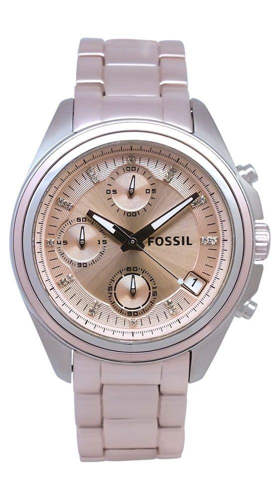 Fossil Women's Boyfriend...pink, but not too pink. need.Boyfriends Watches, Women Boyfriends, Fossils Boyfriends, Women Watches Fossils, Pink Dial, Dial Watches, Fossils Lady, Stainless Steel, Fossils Women