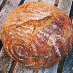 La patata cocida aporta a los panes una humedad deliciosa. El sabor es exquisito, siendo un placer comer un pan así. En este caso, e...