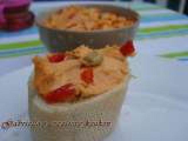 Recept : Kruidenboter van gegrilde paprika, zongedroogde tomaten en olijven door Gabriella's creatieve keuken