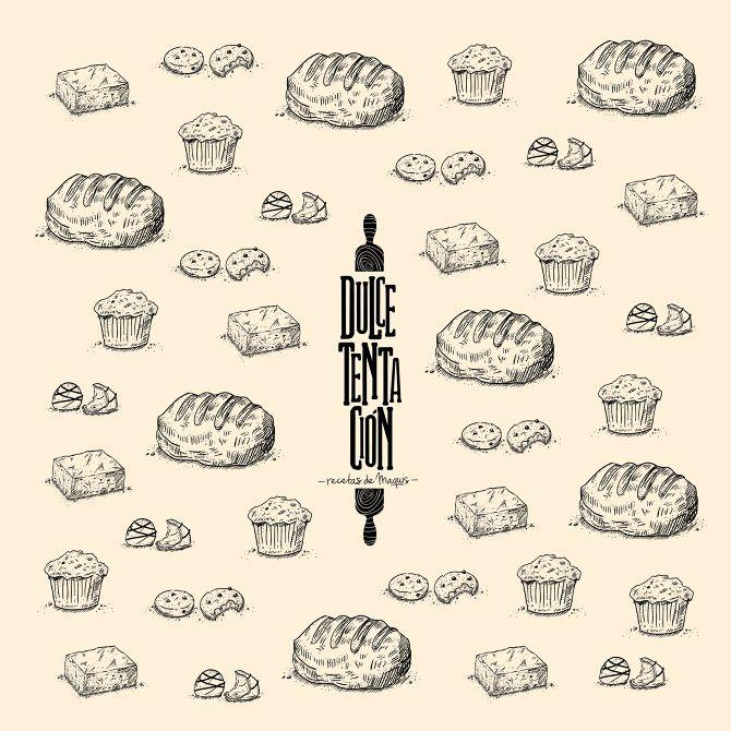 bakery logo design - LA MURGA LAB
