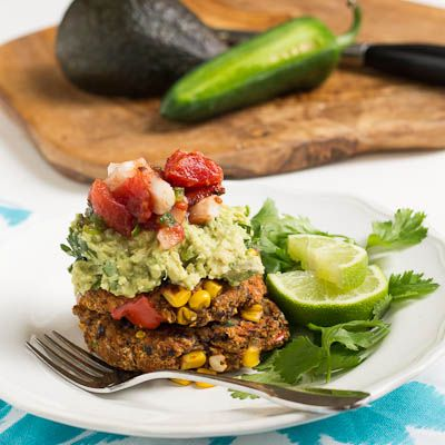black bean salsa black bean patties with avocado tomato salsa recipes ...
