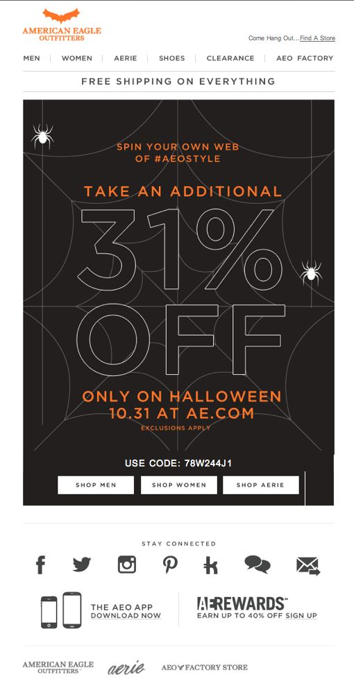 halloween email sign offs