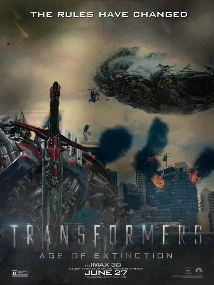 Transformers 4 movie poster 2018