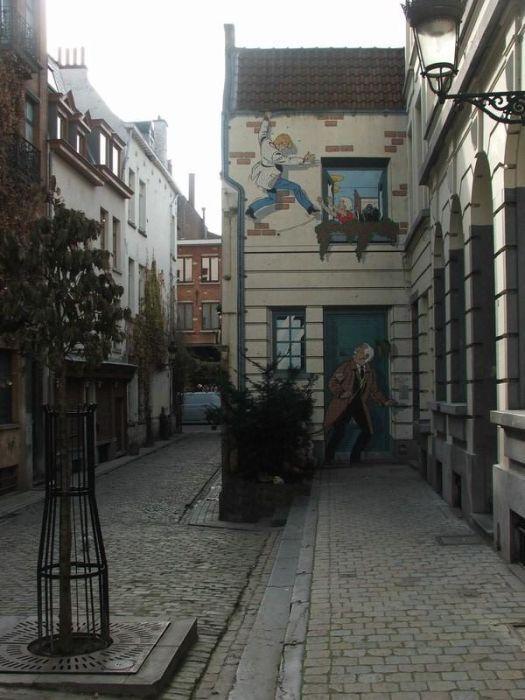 Des yeux pour voir: Street Art en Belgique