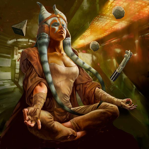 Jedi Meditation - Stanko Illustration