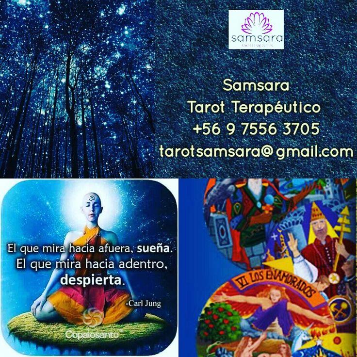 Hoy Tarot!!! Disfruta de una orientación desde tu casa. Tarot por whatsapp +56 9 7556 3705 Cariños de luz, Samsarianos