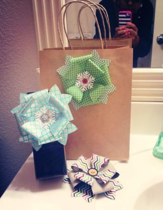 gift bow die-Stampin' Up!