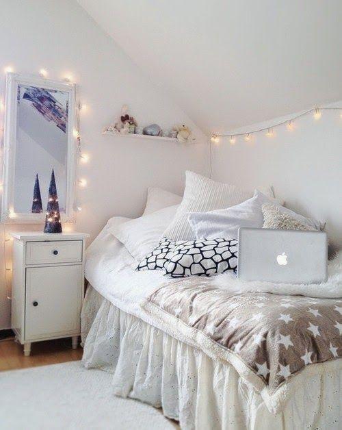 Decorar habitaciones en blanco. Ideas decoración #dormitorios