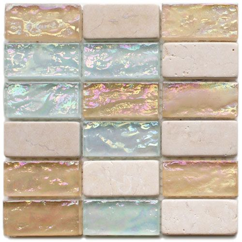 Love this tile with Sea & Sand colors. I searched Google Images and think I've found it: https://www.agapetile.com Aurora Blend TR610 Emperia Series Hakatai Glass Mosaic Tile for $16.79 per sheet