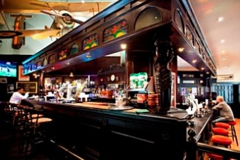 Best cheeseburger in the world: Biggles Pub, at the Millenium Airport Hotel in Dubai, United Arab Emirates.