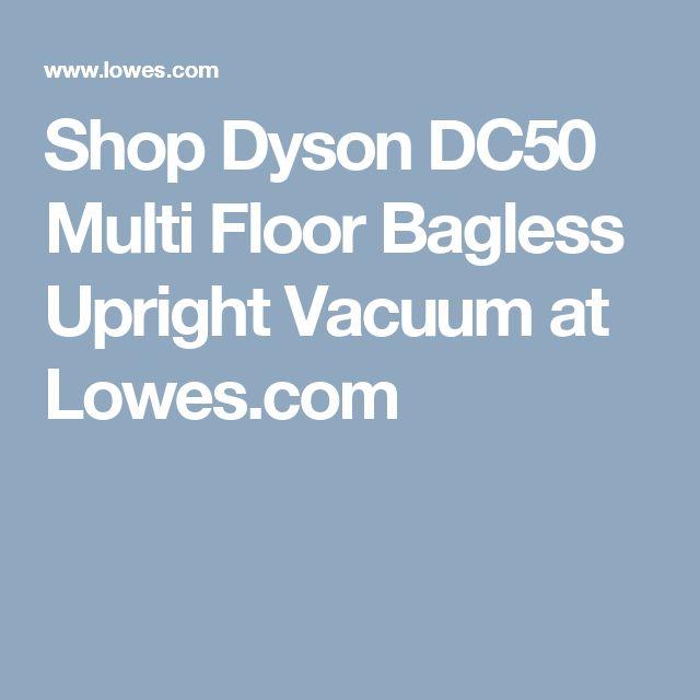 Shop Dyson DC50 Multi Floor Bagless Upright Vacuum at Lowes.com
