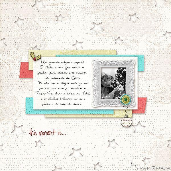 CREDITS: Doce Natal 03 Kit by Pati Araujo Font Mathilde Photo: My love and Nicolle