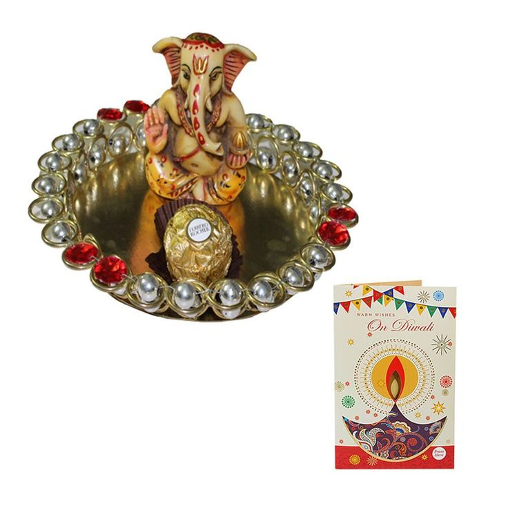 :: #Diwali_Gift_Hamper :: Brand Name: SFU E Com A beautifully Carved Ganesha of a calm & Peaceful Meditating sculpted in Marble powder.Place it in your living room and get praised for your exclusive choice. Lord Ganesha is known as God of wisdom, success and prosperity and is widely revered as the remover of obstacles. #Diwal2017 #Diwali_Gift #Diwali_Gift_Hamper #FreeDelivery #Amazon #Ahmedabad #AmazonIndia #India