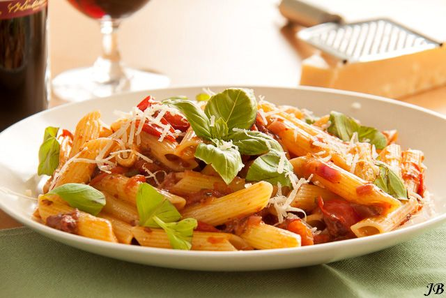 Carolines blog: Penne all 'Amatriciana