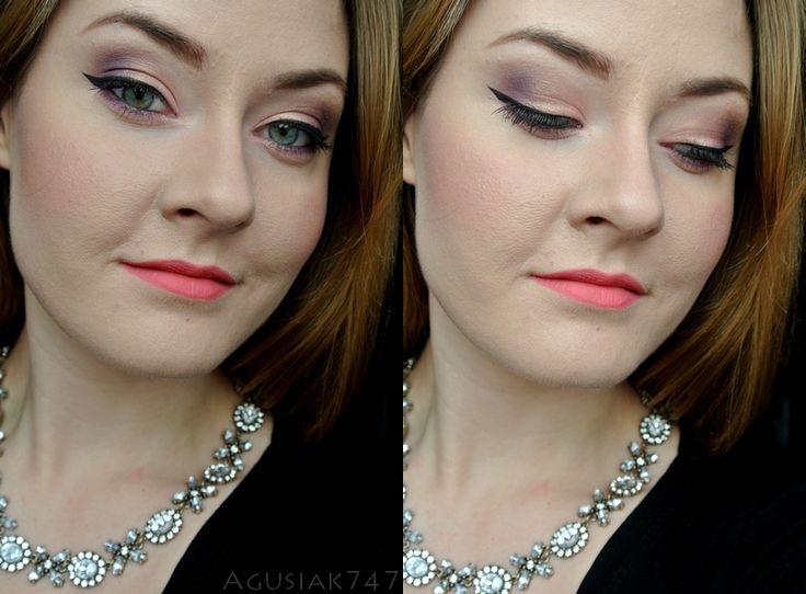 Agusiak747.blogspot.com: Projekt makijażowy z blogerkami: Makijaż walentykowy dla zielonookich