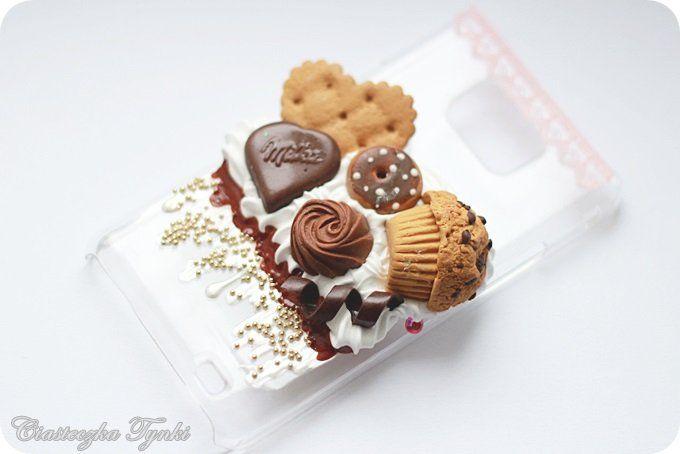 Słodka obudowa (Samsung Galaxy S2) (proj. Ciasteczka Tynki), do kupienia w DecoBazaar.com