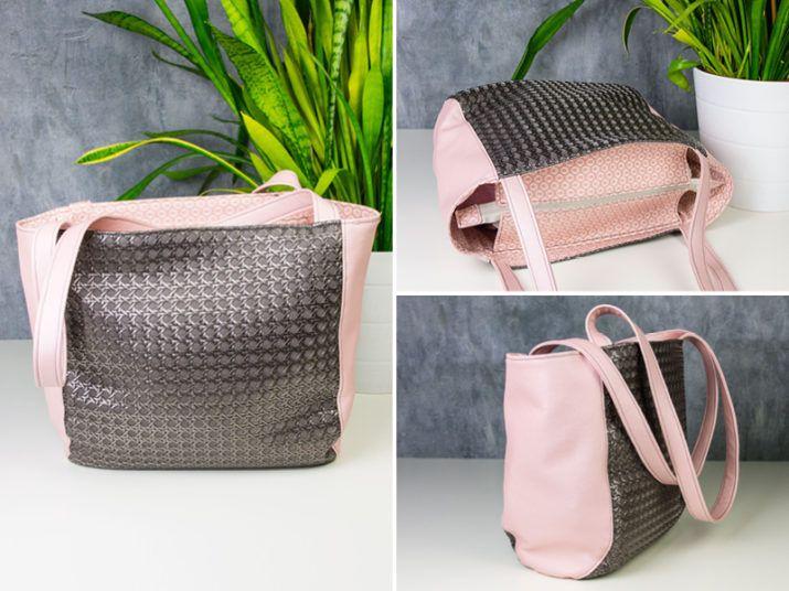 de949a10b9ef0 Kostenloses Schnittmuster  Shopper Raya Schnittmuster Handtasche