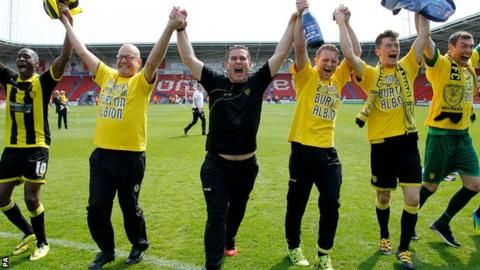 Nigel Clough: Burton Albion rise to Championship truly remarkable