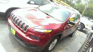 2014 jeep Cherokee! IN HOUSE FINANCING HABLO ESPAÑOL!