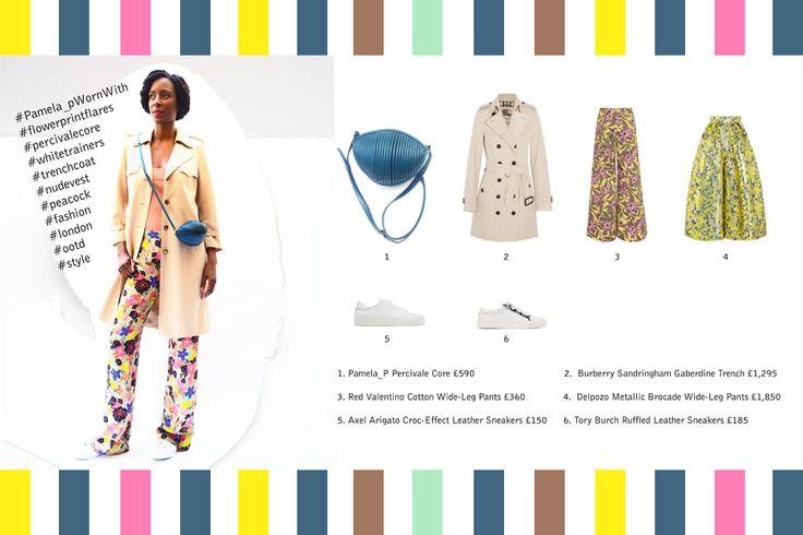 Pamela_pWornWith: Trench Coats & Summer Slacks