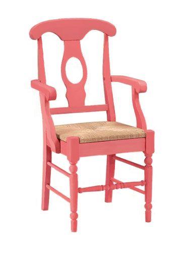rush chair seat cushions. portsmouth arm chair, rush seat, coral chair seat cushions