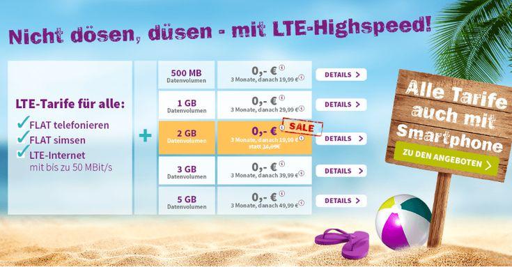 Allnet-Flat yourfone LTE M mit 2 GB 19,99 Euro | PrepaidRadar