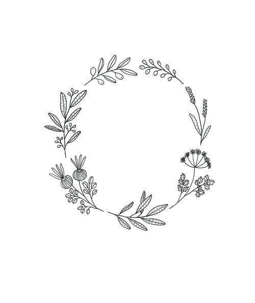 wreath and laurel art | @qavee