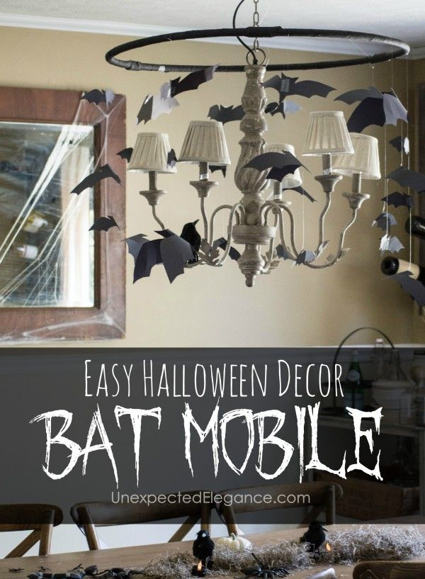 put are simple give that Looking out decorations and some Halloween for mobile       will a      bat It easy room inexpensive quick handbag yellow Check this to any together  creep factor