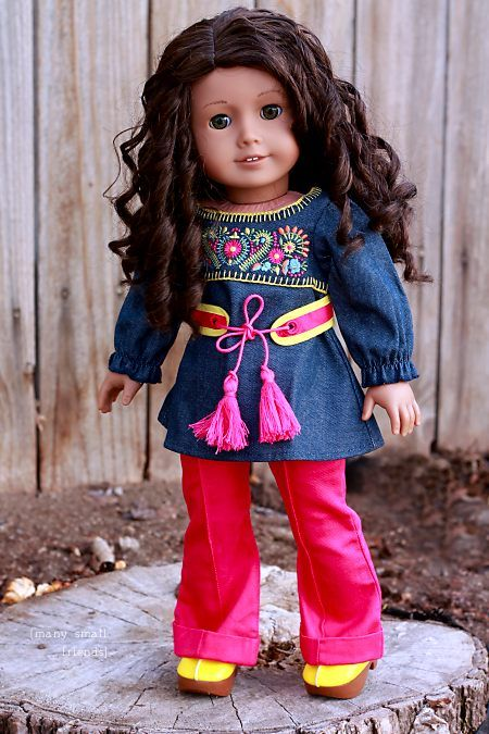 Julie Albright American Girl Tunic Outfit Review