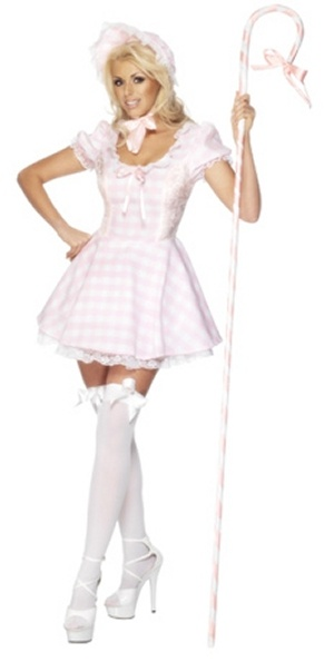 Adult Fever Sexy Little Bo Peep Costume - Small