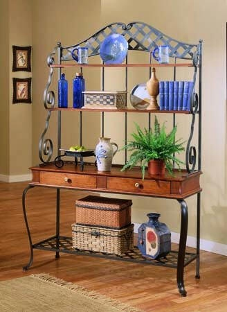 17 Images About Baker 39 S Rack On Pinterest Home Decor Kitchen Bakers Rack And Metal Crafts